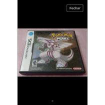 Pokemon Pearl Nintendo Ds - Versão Americana E Original