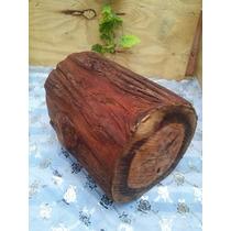 Tronco Rustico, Tronco De Madeira,madeira Vermelha,barato D+