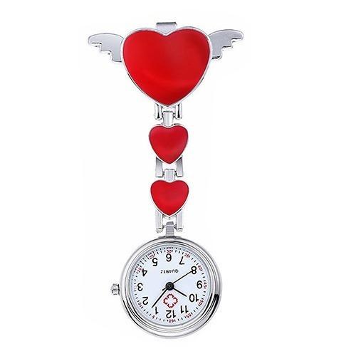 c65eec9d968 Relógio De Lapela Enfermagem Outros Profissionais Asa Vermel - R  29 ...