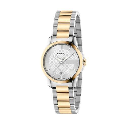 34eee488a Gucci Ya126531 Reloj De Cuarzo Bicolor G-timeless Para Mujer ...