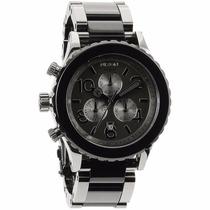 Relógio Nixon Chrono Gunmetal / Black Acetate A037-899