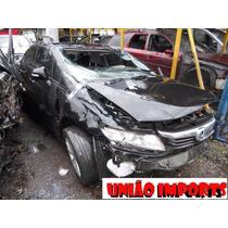 Honda Civic 2014 Para Reposição De Peças