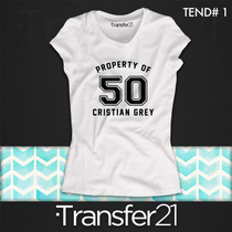 Playeras 50 Sombras De Grey/50 Shades Of Grey