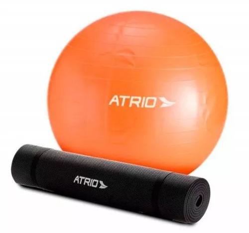 f3178ce961 Bola De Ginastica Atrio Es118 55cm + Bomba De Ar Promoção - R  40