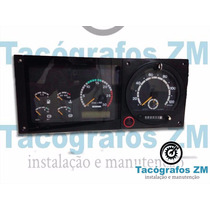 Painel De Instrumentos Onibus Scania K124 Sem Tacografo