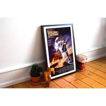 Poster Volver Al Futuro Con Marco De Vidrio Coleccionistas