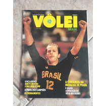 Revista Vôlei Brasil Bebeto Fernandão Rui Bernard