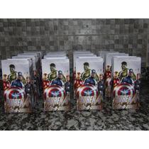 Souvenirs Infantiles Bolsitas Avengers (30 Unidades)