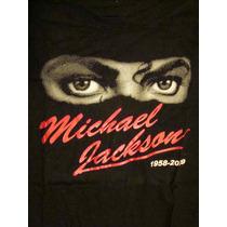 Playera Michael Jackson 1958-2009 Colección