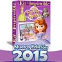 Kit Imprimible Princesa Sofia Invitaciones Editables 2015