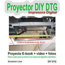 Proyecto Para Hacer Camisas Impresora Dtg - Envio Gratis
