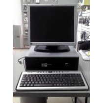 Computadora Completa Dell /hp Con Monitor Lcd De 15