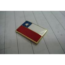 Pins Banderas Chilena 5 Unidades $10000 Con Broche Americano