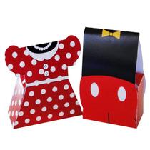 Dulcero Infantil Mickey Mouse Y Mimi Cumpleaños Palomitas