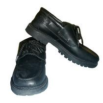 Zapatos Mocasines Para Colegio O Comunion N° 36 De Cuero