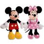 Peluche Mickey Minnie Mouse Original Licencia Disney 66cm