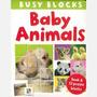 Libro Animales Bebes Con Cubos Bloques Rompecabezas Puzzle