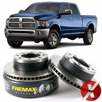 Fremax Bd5312 Disco Freio Dianteiro Par Dodge Ram 3500 4x4