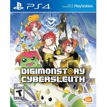 Juego Digimon Story Cyber Sleuth Playstation Ibushak Gaming