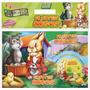 Livros Cd/dvd Jogos Infantis - Kit 8 Peças - Filhotes Amigos