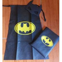 Capa Friselina Superhéroes Batman.hulk.batgirl.etc