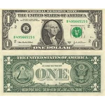 1 Dolar One Dollar Bill Venta De Dolares Inversion Goldmex