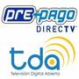 Instalador Directv Prepago Tda Fta Tv Digital Hd