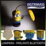 Parlante Bluetooth Y Lampara Led De Minion - Radio Y Memoria<br><strong class='ch-price reputation-tooltip-price'>U$S 19<sup>99</sup></strong>