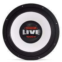 Woofer Tomahawk Live 12 1000w Grave Misto P/ Caixa Somsc