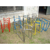 Para Carpintero: Estructuras Metálicas P/bancos Tipo Escolar