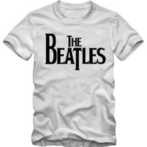 Beatles Camiseta T-shirt Algodão Fio 30.1