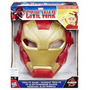 Mascara Eletronica Guerra Civil Homem De Ferro Hasbro B5784