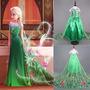 Vestido Frozen Fever Filme 2 Disney Princesa Elsa Anna