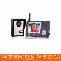 Hz351ma11 Video Portero Intercomunicador Inalámbrico