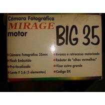 Camera Fotografica Mirage Big 35 Com Filme