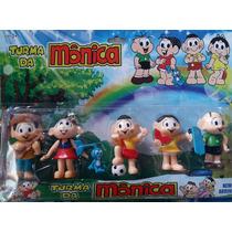 Miniatura Turma Da Mônica - Kit C/ 5 Bonecos Pronta Entrega