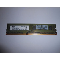 Memoria Ddr3 2gb 2rx8 Pc3 10600u Hp P/n 497157-b28 E Dell
