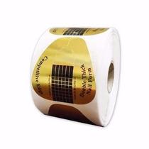 100 Moldes Adesivos De Papel Para Unha De Porcelana E Gel