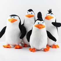 Kit Pelúcia Pinguins De Madagascar