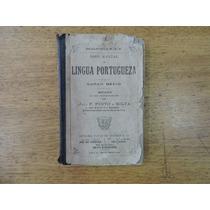 Novo Manual De Língua Portugueza Curso Médio - João F - 1925
