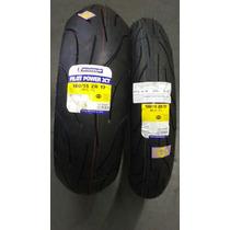 Jogo De Pneu Michelin Power 2ct 120/e/180