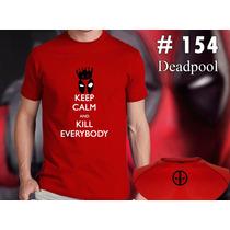 Deadpool - Marvel - Remeras Estampadas De Comics
