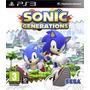 Sonic Generations Ps3 Digital | Juego Ps3 Para Chicos Choko