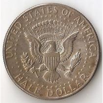 Estados Unidos, 1/2 Dollar, 1968 D. Plata. Xf / Xf+