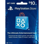Psn Card 10 De Usa || Código Digital || Entrega Inmediata
