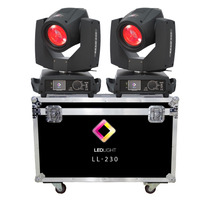 Moving Beam 230 7r Touch 2 Unidades+case Gratis+nf+garantia
