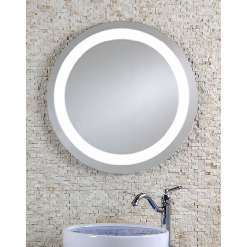 Espejo redondo con luz led y bocinas bluetooth nuevo - Espejos de bano con luz led ...
