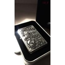 Encendedor De Colección Piratas Del Caribe Moneda Oro Azteca