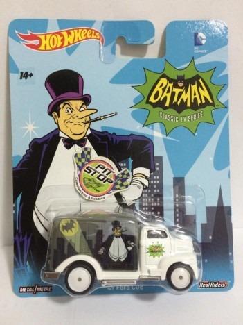 4a947b5db5 Hot Wheels 49 Ford Coe Batman Classic Tv Series Dc Comics - R  43