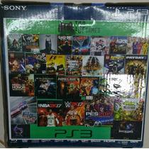 Playstation 3 De 250gb + Juegos De Regalos